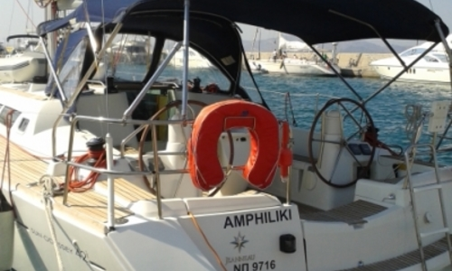 Image of Jeanneau Sun Odyssey 42i for sale in Greece for €95,000 (£82,621) ATHENS, Greece