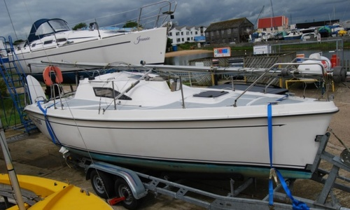 Image of New Classic 700 Trailer Sailer for sale in United Kingdom for £9,000 Maldon, Essex, United Kingdom