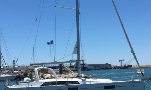 Image of Beneteau Oceanis 41.1 for sale in Spain for €204,529 (£179,278) BARCELONA, Spain