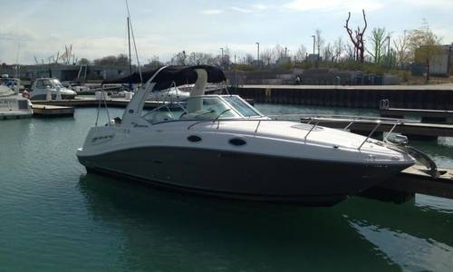 Image of Sea Ray 260 Sundancer for sale in United States of America for $49,990 (£37,884) Chicago, Illinois, United States of America