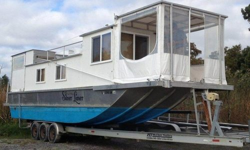 Image of Custom 35 Diesel Houseboat for sale in United States of America for $45,000 (£33,888) Venice, Louisiana, United States of America