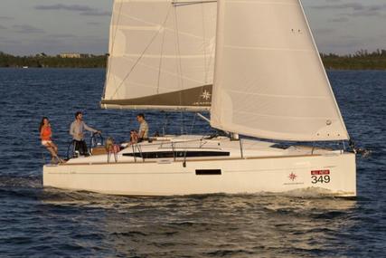 Jeanneau Sun Odyssey 349 for charter in Belgium from €1,490 / week