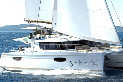 Fountaine Pajot Saba 50 - 5 cabin version for charter in Greece from €14,000 / week