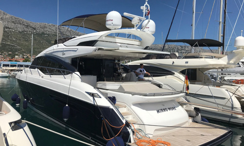 Image of Princess S65 for charter in Croatia from €25,000 / week Marina Mandalina, Croatia