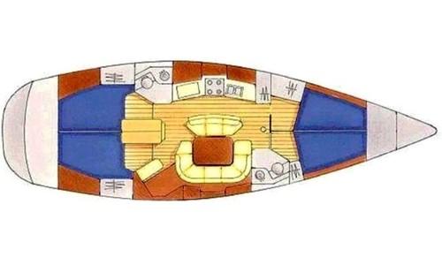 Image of Jeanneau Sun Odyssey 45.2 for sale in Croatia for £75,000 Croatia