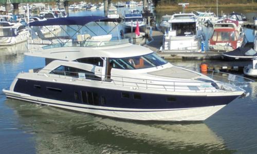 Image of Fairline Squadron 58 for sale in United Kingdom for £645,000 Hamble River Boat Yard, United Kingdom