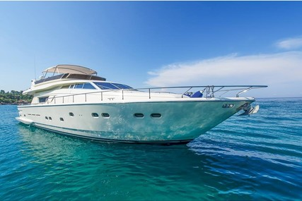 Ferreti Yachts 75 for charter in Greece from P.O.A.