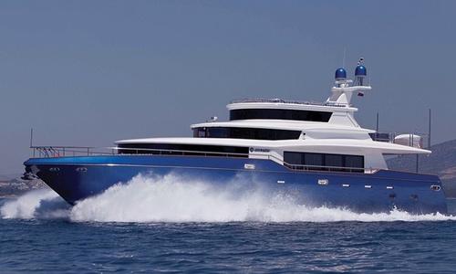 Image of Johnson 87 for charter in Croatia from €40,000 / week Marina Kaštela, Croatia
