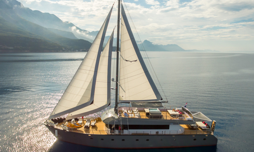 Image of gulet Rara Avis for charter in Croatia from €36,000 / week ACI Marina Split, Croatia