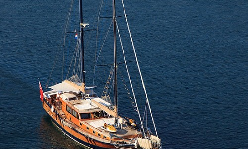 Image of gulet Pacha for charter in Croatia from €20,500 / week Port of Split, Croatia