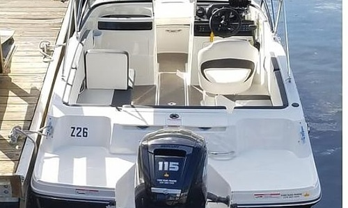 Image of Bayliner VR4 18 BOWRIDER for sale in United States of America for $32,500 (£24,917) Estero, Florida, United States of America