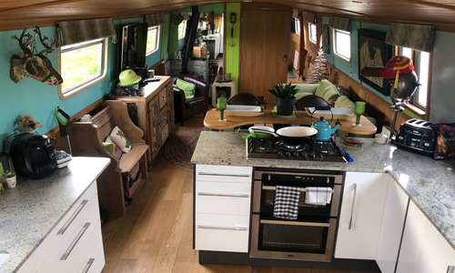 Image of Soar Valley Steel Boats 60' Cruiser Stern for sale in United Kingdom for £89,500 Cambridgeshire, United Kingdom