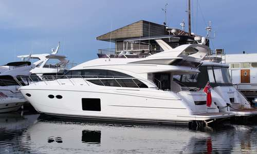 Image of Princess 56 for sale in United Kingdom for £999,950 Princess Poole, Salterns Marina, United Kingdom