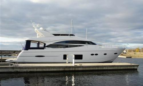 Image of Princess 72 for sale in Greece for €1,250,000 (£1,126,908) Athens, Greece