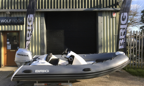 Image of Brig Eagle 380 - New - ORCA Hypalon for sale in United Kingdom for £13,995 South West, United Kingdom