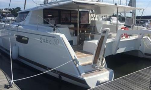 Image of Fountaine Pajot Saba 50 for sale in Spain for €750,000 (£678,702) Spain