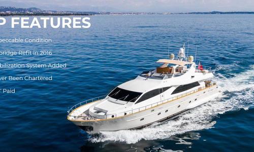 Image of Cantieri Navali Falcon Srl. Navali Falcon Srl 90 for sale in Netherlands for €1,200,000 (£1,051,967) Netherlands