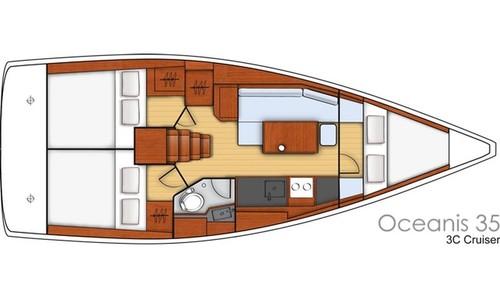 Image of Beneteau Oceanis 35 for sale in Croatia for £103,000 Croatia