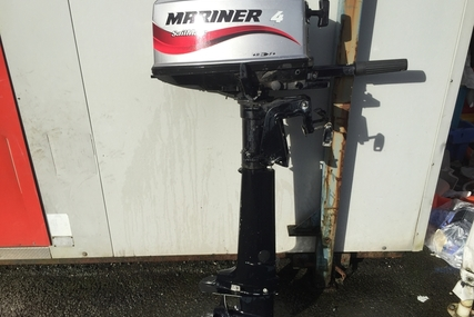 Mariner 4 hp Sailmate two Stroke for sale in United Kingdom for £450