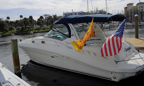 Image of Sea Ray 340 Sundancer for sale in United States of America for $89,900 (£72,418) Satellite Bch, Florida, United States of America