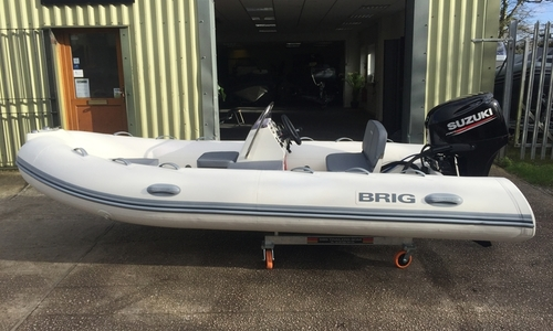 Image of Brig Falcon 420T - NEW 2020 - ORCA Hypalon for sale in United Kingdom for £16,995 South West, United Kingdom
