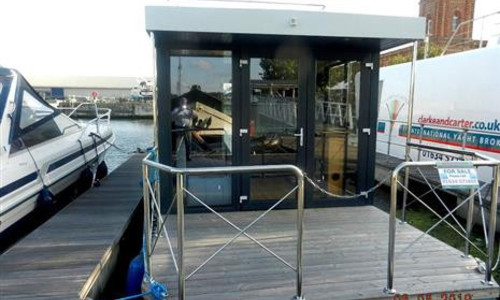 Image of Houseboat HAUSBOAT 300 HB for sale in United Kingdom for £59,995 Chatham, Chatham, United Kingdom