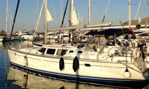 Image of Jeanneau Sun Odyssey 43 DS for sale in Spain for €80,000 (£72,094) Mallorca, , Spain