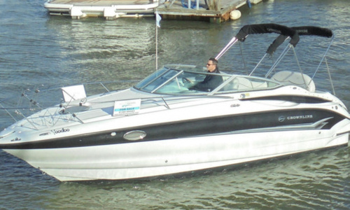 Image of Crownline 250 CR for sale in United Kingdom for £33,500 Hamble River Boat Yard, United Kingdom