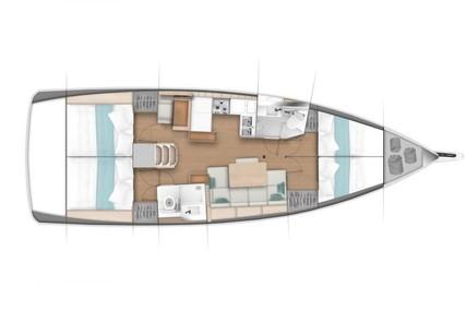 Jeanneau Sun Odyssey 440 for charter in Spain (Balearic Islands) from €2,700 / week