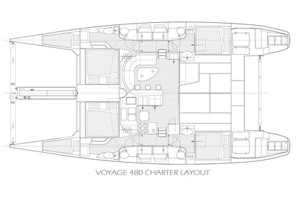 Voyage Yachts 480 for charter in British Virgin Islands from P.O.A.