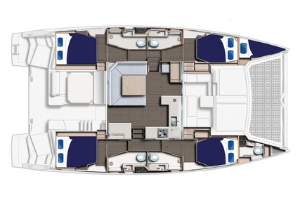Leopard Leopard 45 for charter in Italy (West Coast) from €5,625 / week