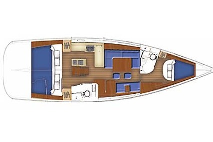 Beneteau Oceanis 40 for charter in Thailand from €1,680 / week