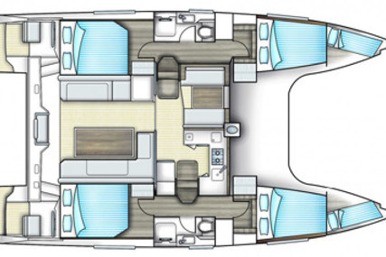 Bavaria Yachts Nautitech 40 for charter in Thailand from €3,430 / week