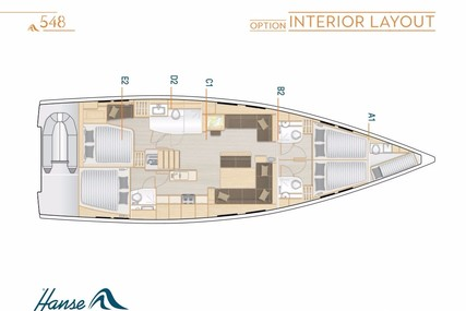 Hanse 548 for charter in Greece from €4,000 / week
