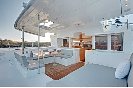 Lagoon 450 for charter in Puerto Rico from P.O.A.