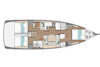 Jeanneau Sun Odyssey 49 for charter in Chesapeake from P.O.A.