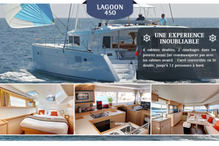 Lagoon 450 for charter in Martinique from €4,700 / week