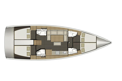 Dufour Yachts 460 Grand Large for charter in Italy (Tuscany) from €3,200 / week