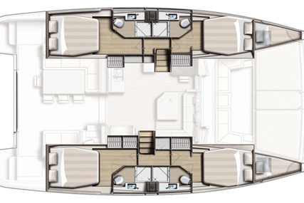 Catana BALI 4.5 for charter in Greece from €3,499 / week