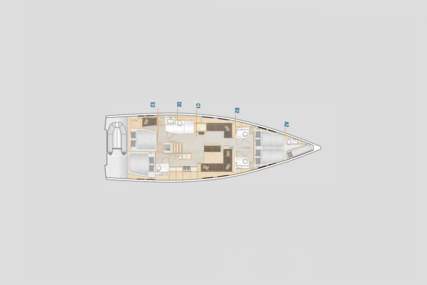 Hanse 548 for charter in Greece from €4,300 / week