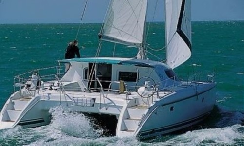 Image of Nautitech 40 for charter in Panama from P.O.A. San Blas, Panama