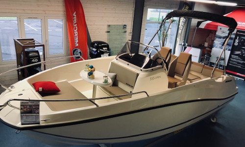 Image of Quicksilver 555 Activ for sale in France for €26,990 (£22,579) granville, granville, France