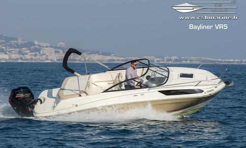 Image of Bayliner VR5 Cuddy for sale in France for €41,900 (£37,572) Mandelieu, Mandelieu, France