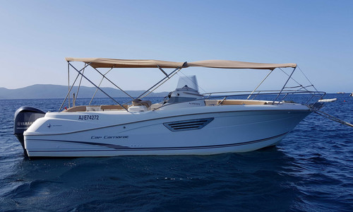 Image of Jeanneau Cap Camarat 8.5 CC for sale in France for €58,000 (£51,922) PORTICCIO, , France