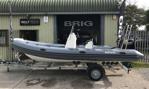 Image of Brig Falcon 570L - NEW 2020 - ORCA Hypalon for sale in United Kingdom for £24,699 South West, United Kingdom