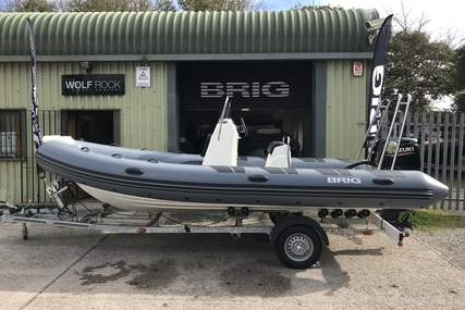 Brig Falcon 570L - NEW 2021 - ORCA Hypalon for sale in United Kingdom for £24,699