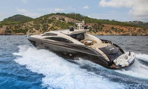 Image of Sunseeker Predator 82 for sale in Spain for €899,000 (£812,369) Ibiza, Spain