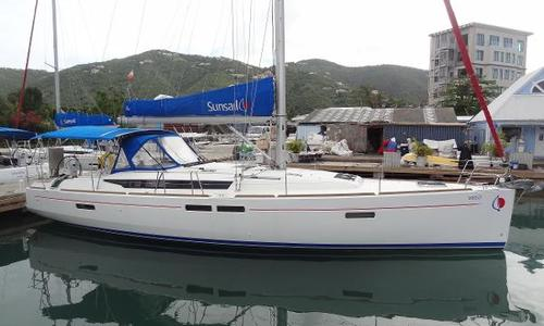 Image of Jeanneau Sun Odyssey 479 for sale in Antigua and Barbuda for $199,000 (£154,515) Falmouth Harbour, Antigua and Barbuda