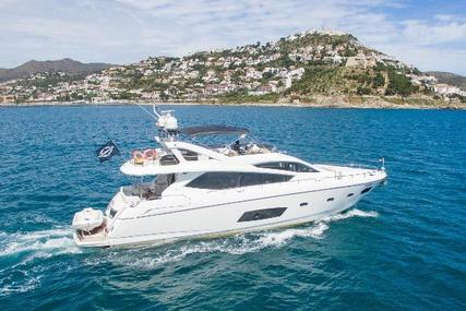 Sunseeker Manhattan 73 for sale in Spain for €1,100,000 (£991,295)