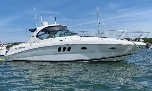 Image of Sea Ray 380 Sundancer for sale in United States of America for $146,000 (£118,274) Wareham, MA, United States of America